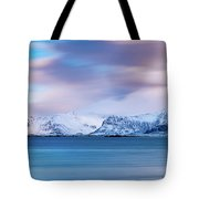 Still Mountains Tote Bag