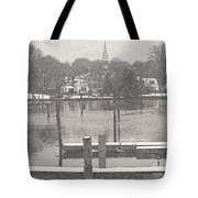 New England Peace Tote Bag