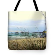 Still Standing Frisco Pier 3 4/25 Tote Bag