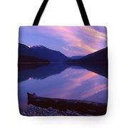 Stillness At Lillooet Lake  Tote Bag