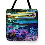 Stillness Of Color And Light Tote Bag