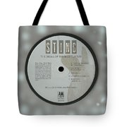 Sting Dream Of The Blue Turtles Lp Label Tote Bag