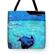 Stingray Bay Tote Bag