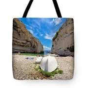 Stinva Bay Beach Summer View Tote Bag