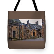 Stirling Castle Courtyard, Scotland Tote Bag