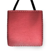 Stitched Leather Look Colorful Squares For Wall Decorations Tote Bag
