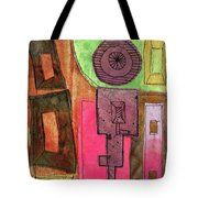 Stitched Towers  Tote Bag