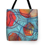 Stitched Waterways 4  Tote Bag
