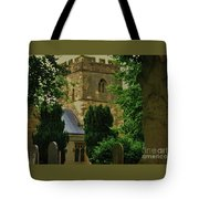 St. Nicholas Church, Yorkshire England Tote Bag