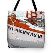 St.nicholas Three Tote Bag