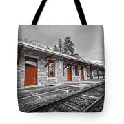 Stockbridge Train Station Tote Bag