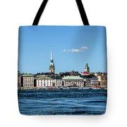 Stockholm From Lake Malaren Tote Bag