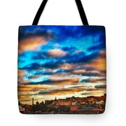 Stockholm In Bold Colors Tote Bag
