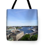 Stockholm In My Heart Tote Bag