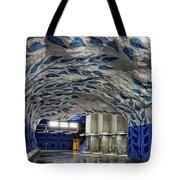 Stockholm Metro Art Collection - 002 Tote Bag