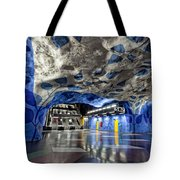Stockholm Metro Art Collection - 003 Tote Bag