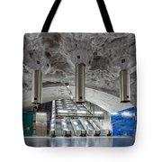 Stockholm Metro Art Collection - 004 Tote Bag