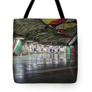Stockholm Metro Art Collection - 012 Tote Bag