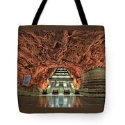 Stockholm Metro Art Collection - 013 Tote Bag