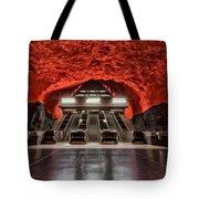 Stockholm Metro Art Collection - 014 Tote Bag