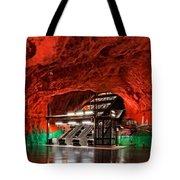 Stockholm Metro Art Collection - 015 Tote Bag