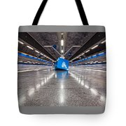 Stockholm Metro Art Collection - 017 Tote Bag