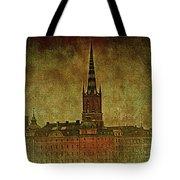 Stockholm Painting V Tote Bag