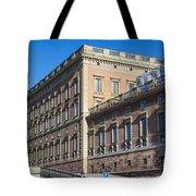 Stockholm Royal Palace  Tote Bag