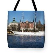 Stockholm Ship Tote Bag
