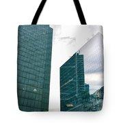 Stockholm Skyscrapers Tote Bag