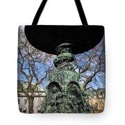 Stockholm Statue Tote Bag
