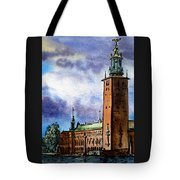 Stockholm Sweden Tote Bag by Irina Sztukowski