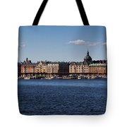 Stockholm Waterscape Tote Bag