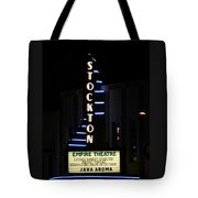Stockton Theatre Tote Bag