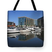 Stockton Waterscape Tote Bag by Carol Groenen