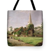 Stoke Poges Church Tote Bag