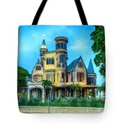 Stollmeyer Castle Trinidad Tote Bag by Rachel Lee Young