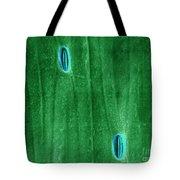 Stomata In A Green Onion Leaf, Esem Tote Bag