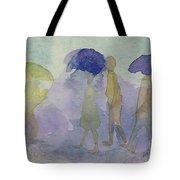 Stomping In The Rain Tote Bag