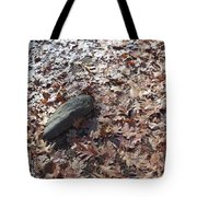 Stone And Leaves Tote Bag