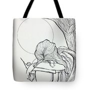 Stone Angel Tote Bag by Loretta Nash