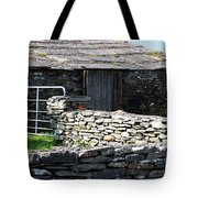 Stone Barn Doolin Ireland Tote Bag