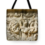 Stone Carving On Mausoleum Of The Julii Tote Bag