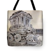 Stone Chariot Tote Bag