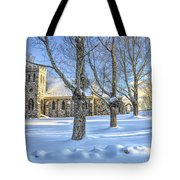 Stone Church At Cragsmoor Tote Bag