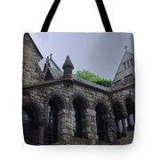 Stone Church Tote Bag