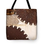 Stone Eater In Lime Stone Quarry - Lithica Tote Bag