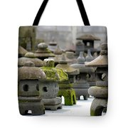 Stone Figures Tote Bag