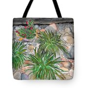 Stone Garden Tote Bag