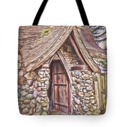 Stone House In Skagit County Tote Bag